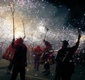 firework walkers
